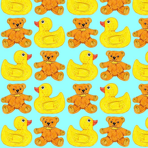 Ducky Bears baby blue