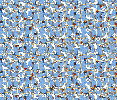 ©2011 What little boys are made of - enough to make your head spin fabric by glimmericks on Spoonflower - custom fabric