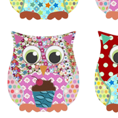 girl and boy scrummy owls