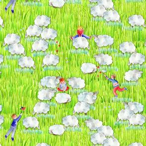123 compter les mouton pour s'endormir 2