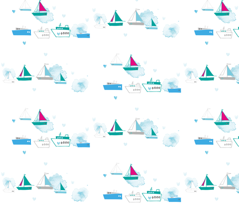 Ahoi2 fabric by loki_and_lamb on Spoonflower - custom fabric