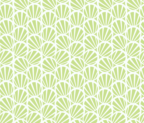 circles and stripes green fabric by myracle on Spoonflower - custom fabric