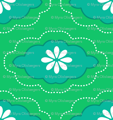 flowercloud green