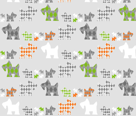 triple_gray22 fabric by samanthaconklin on Spoonflower - custom fabric