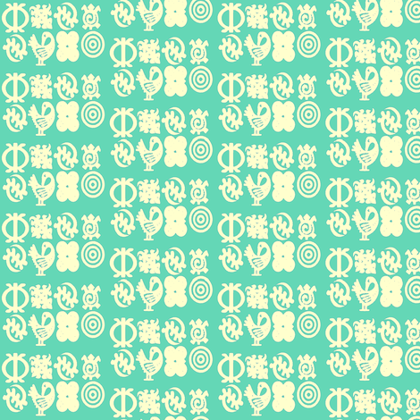 Adinkra Elegance-156-ed fabric by kkitwana on Spoonflower - custom fabric