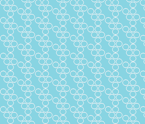 framefabric blue fabric by luluhoo on Spoonflower - custom fabric