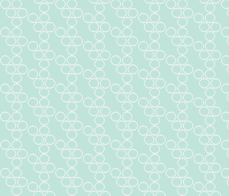 frame fabric seafoam fabric by luluhoo on Spoonflower - custom fabric
