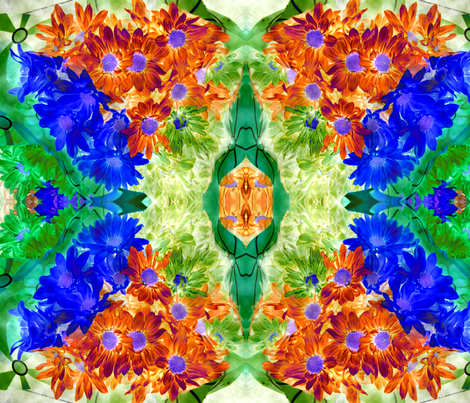 Floral_Intrigue_3 fabric by colorcrazed on Spoonflower - custom fabric