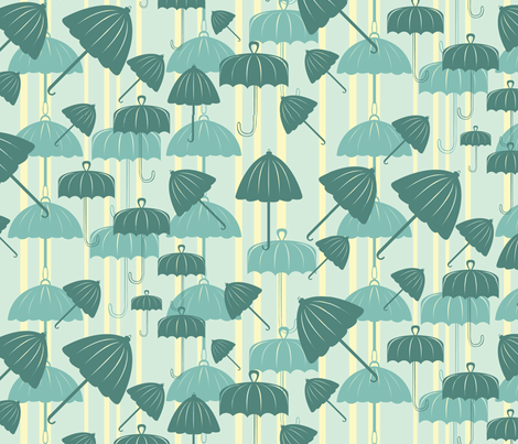 RainFour2011 fabric by nikky on Spoonflower - custom fabric