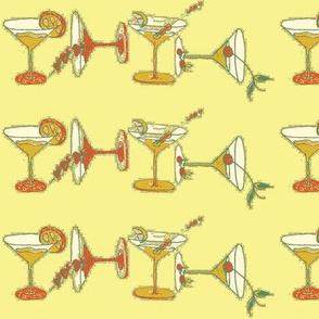 cocktailfabric Yelow