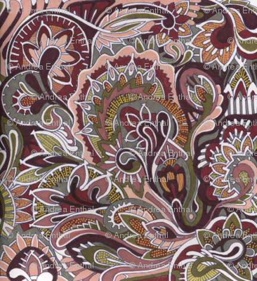 Winter Paisley
