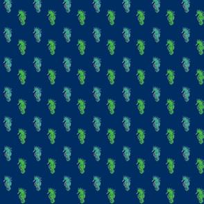 Seahorse Dk.Blue