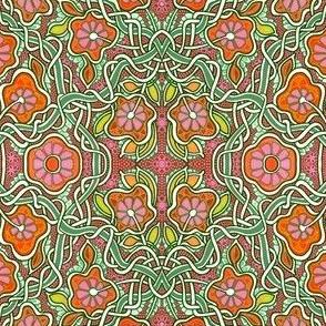 Tangled Garden (orange)