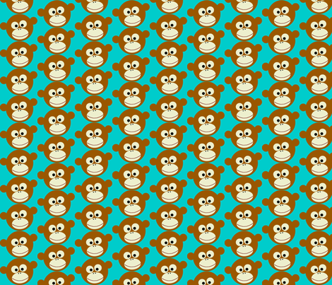 Corky face fabric by paragonstudios on Spoonflower - custom fabric