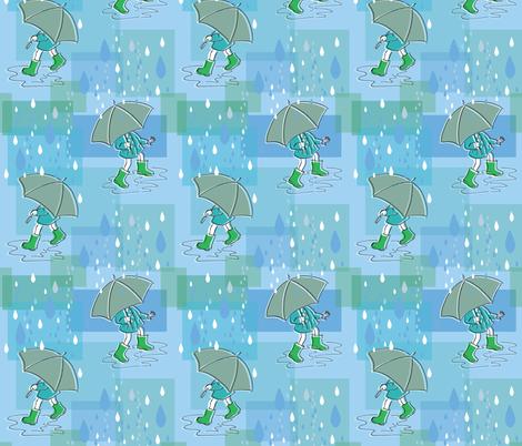Rain Dancing fabric by woodledoo on Spoonflower - custom fabric