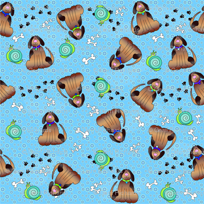 Rrdogs_and_snails_baby_fabric_preview