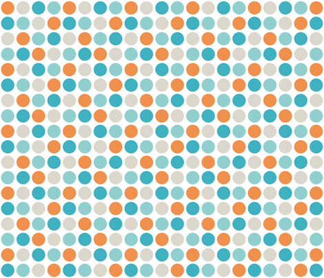 Polka Dots fabric by dawnams on Spoonflower - custom fabric