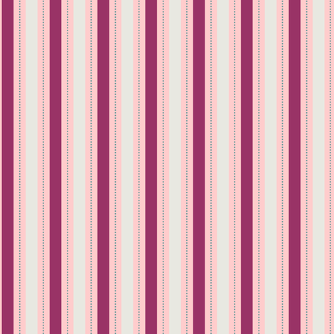 Burgundy Berry Stripe fabric by countrygarden on Spoonflower - custom fabric