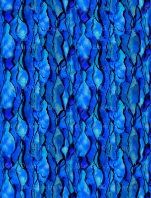 Ocean Ripple Vertical repeat