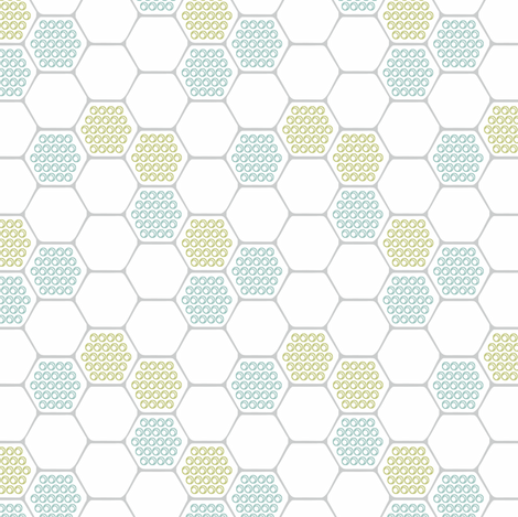 Honeycomb fabric by pattysloniger on Spoonflower - custom fabric