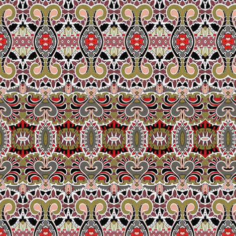 Baroque Folk fabric by edsel2084 on Spoonflower - custom fabric