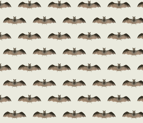 Batty One fabric by susaninparis on Spoonflower - custom fabric