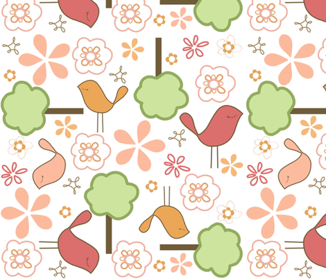 Joyful fabric by emilyb123 on Spoonflower - custom fabric