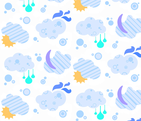 Weather Pattern fabric by coryhaley on Spoonflower - custom fabric