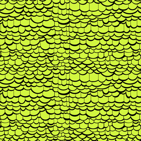 Green Dragon Skin fabric by pond_ripple on Spoonflower - custom fabric