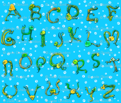 Jellyfish Alphabet