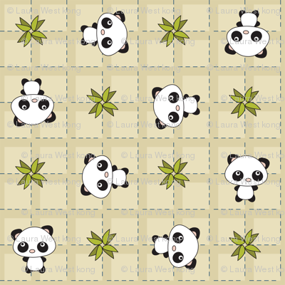 Pandamonium Plaid