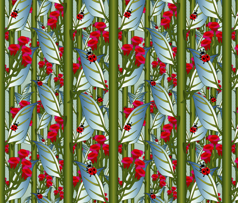 ©2011 What are YOU looking at? fabric by glimmericks on Spoonflower - custom fabric
