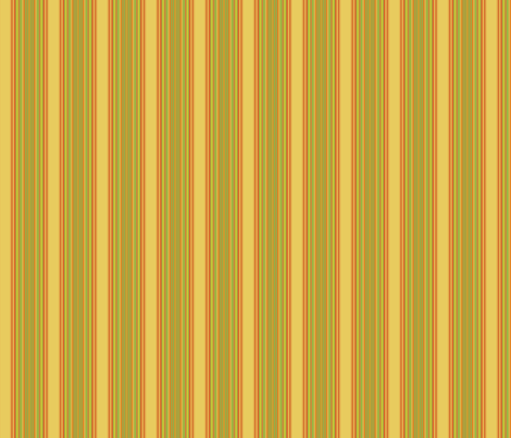 Yellow and Orange Stripe © 2009 Gingezel Inc. fabric by gingezel on Spoonflower - custom fabric