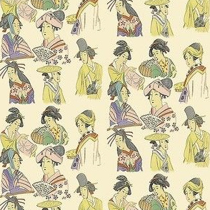 Tiny Japanese Ladies