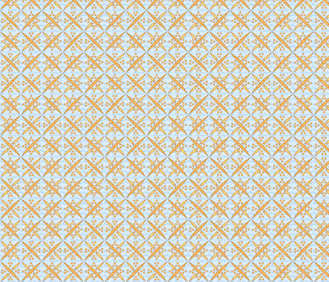 ©2011 Diatomic Love fabric by glimmericks on Spoonflower - custom fabric