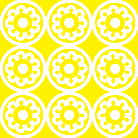 Circle Lattice Cookie fabric by dolphinandcondor on Spoonflower - custom fabric