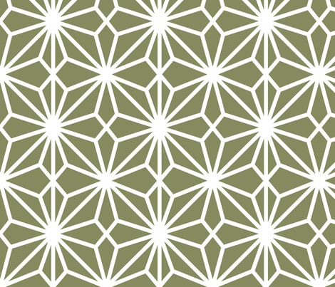 FlowerlatticeMoss fabric by dolphinandcondor on Spoonflower - custom fabric
