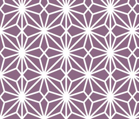FlowerlatticePurp fabric by dolphinandcondor on Spoonflower - custom fabric