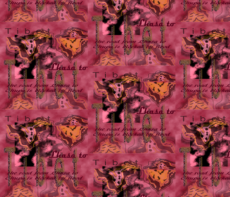 tibet topographical fabric by paloma_le_sage on Spoonflower - custom fabric