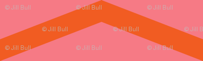 chevron orange blossom ©2012 Jill Bull