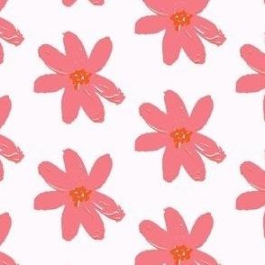 daisy pink ©2012 Jill Bull