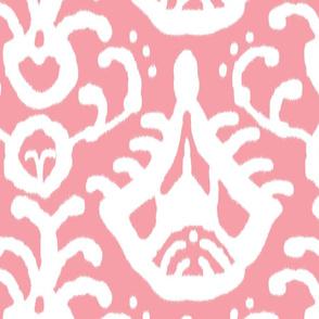Warm Pink ikat