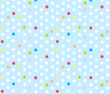 marble spot - baby blue fabric by flowerpress on Spoonflower - custom fabric