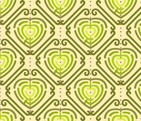 A-mazing_map fabric by pavlovais on Spoonflower - custom fabric