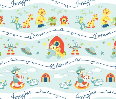 Imagine fabric by cjldesigns on Spoonflower - custom fabric