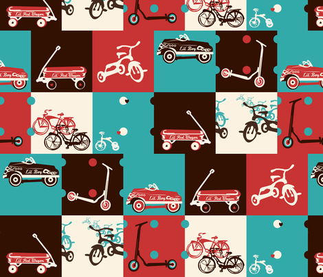 Lil' Boy fabric by twobloom on Spoonflower - custom fabric