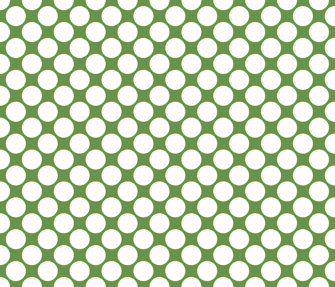 Circus Polk- Lime Green fabric by mayabella on Spoonflower - custom fabric
