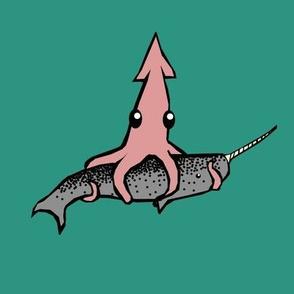 Squid vs. Narwhal