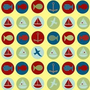 lakeside icons - yellow