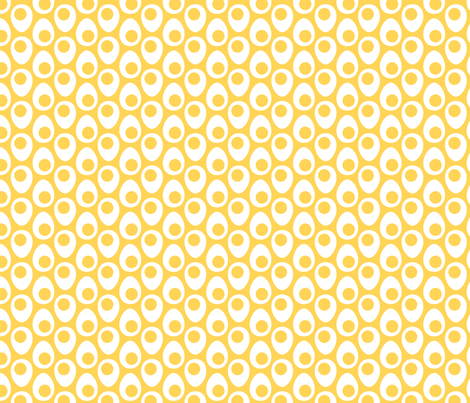 SoftBoiled - Medium fabric by happysewlucky on Spoonflower - custom fabric